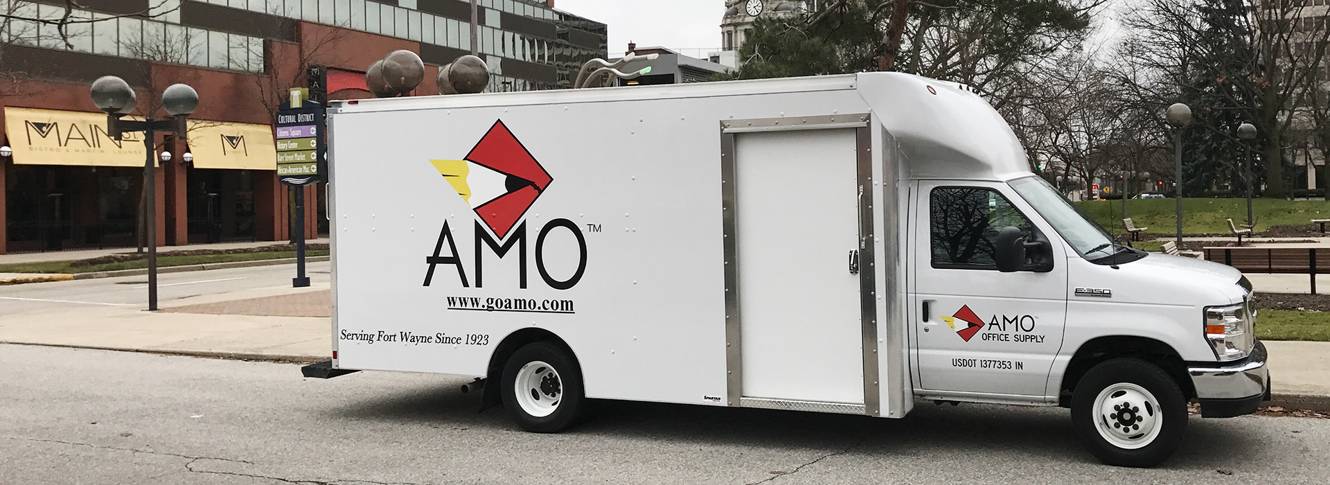 Image of AMO Office Supply Truck Truck for why choose AMO