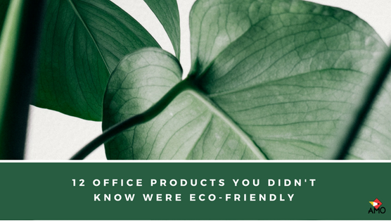 Image of Blog Header: 12 Office Products You Didn't Know Were Eco-Friendly