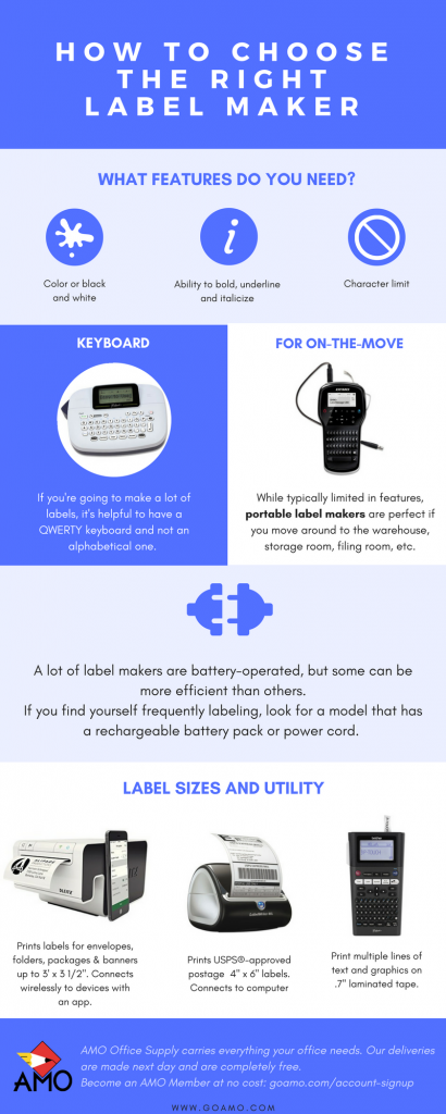 How to choose the right label maker