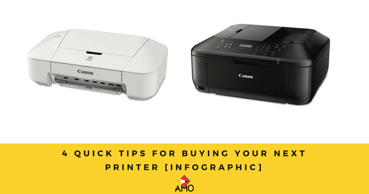 Image: 4 Quick Tips For Buying Your Next Printer [INFOGRAPHIC]