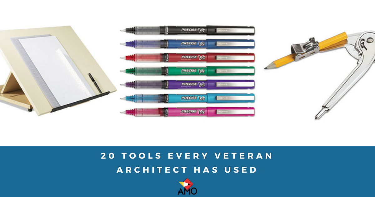 20 tools every veteran architect has used amo office supply