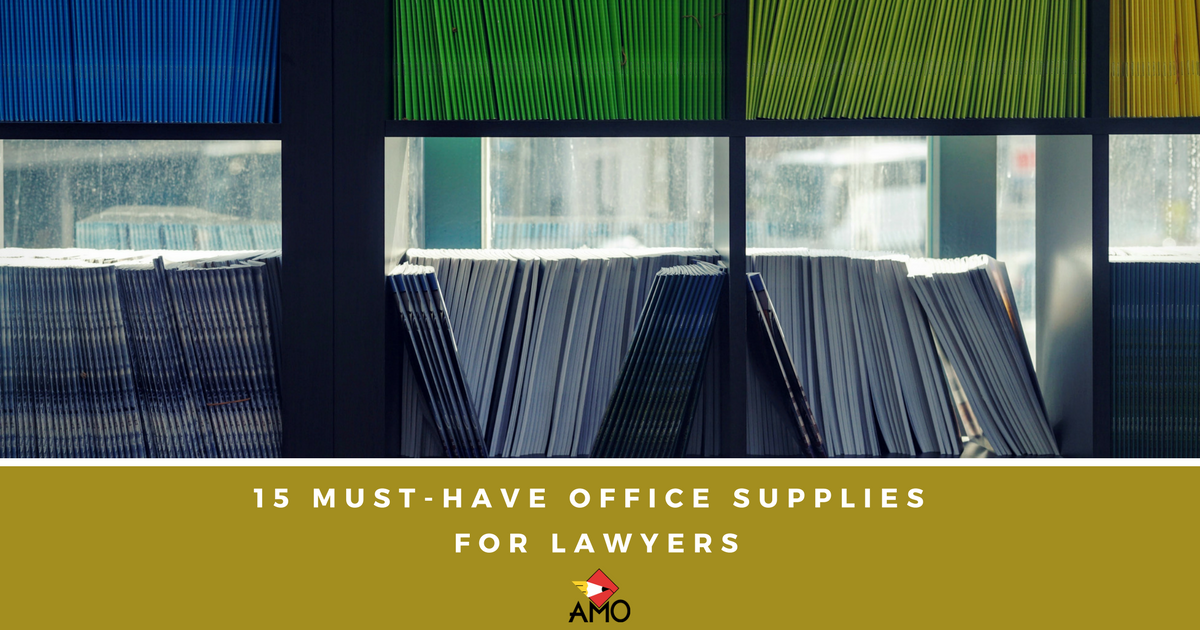 12 must-have office supplies for lawyers